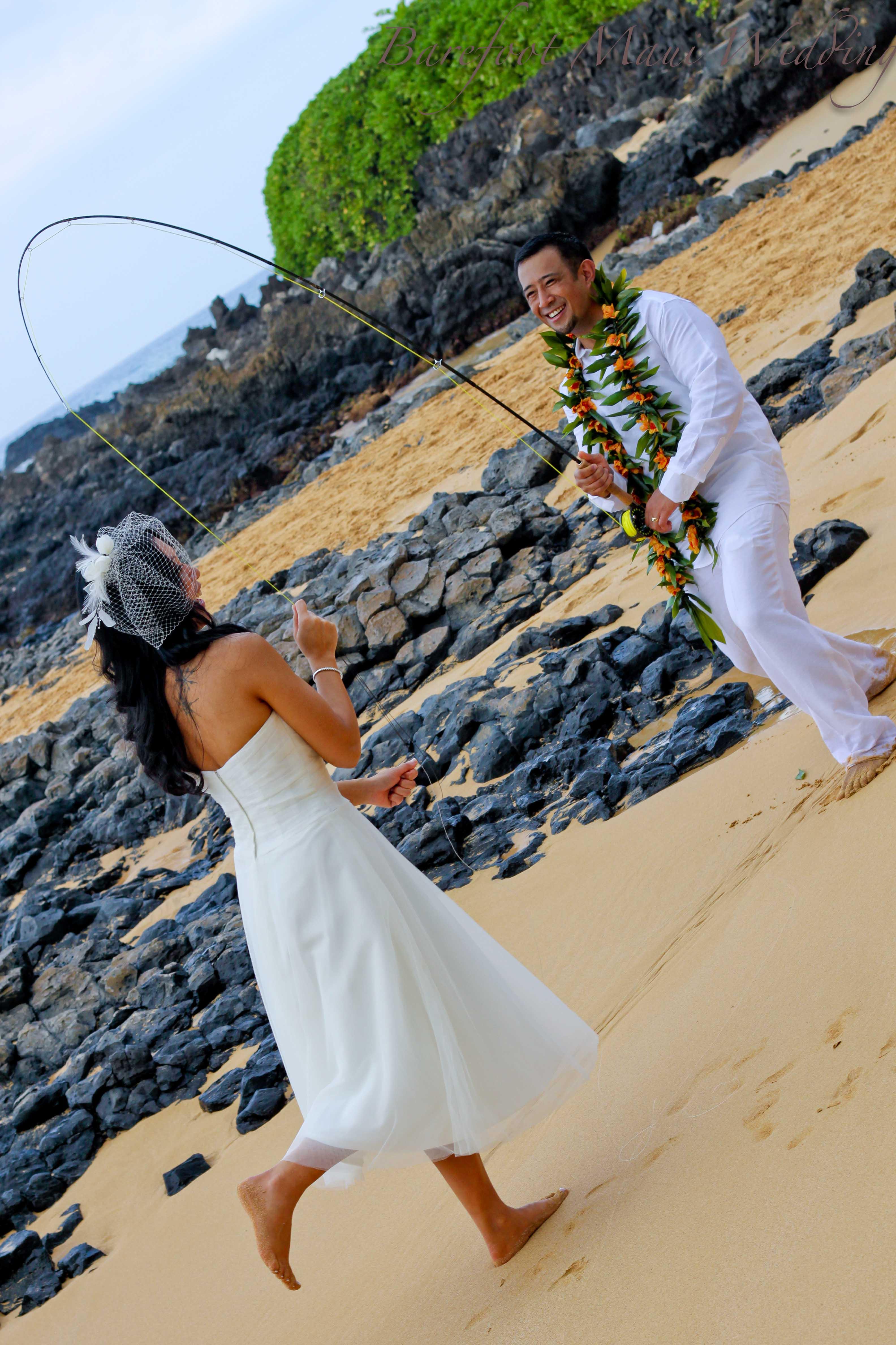 Barefoot Maui Wedding Fun PHotography-20