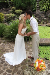 Barefoot Maui Wedding photography Iao Valley Heritage Gardens