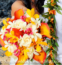 Affordable Barefoot Maui Weddings