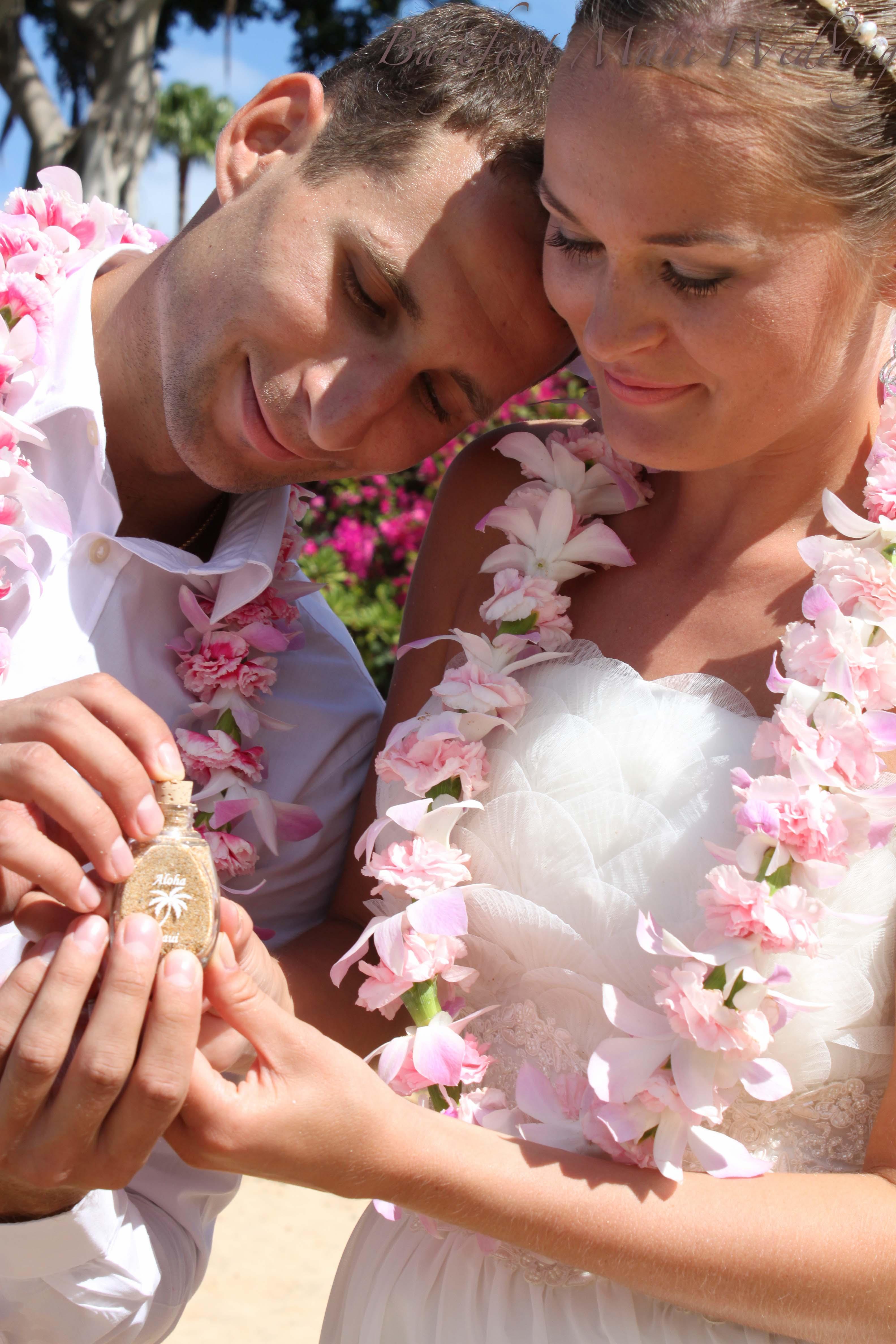 Barefoot Maui Unity Sand Ceremony-5