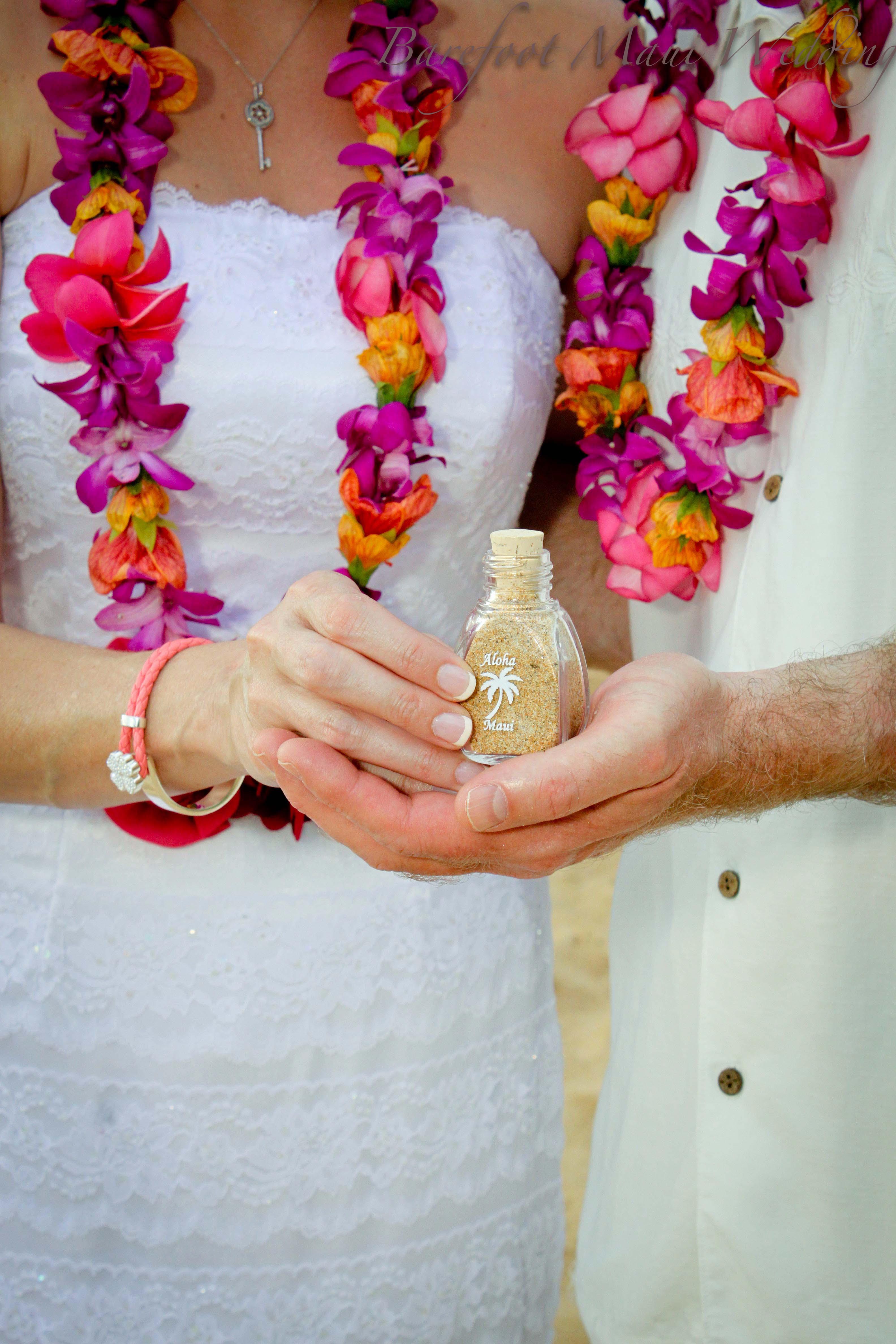 Barefoot Maui Unity Sand Ceremony-6