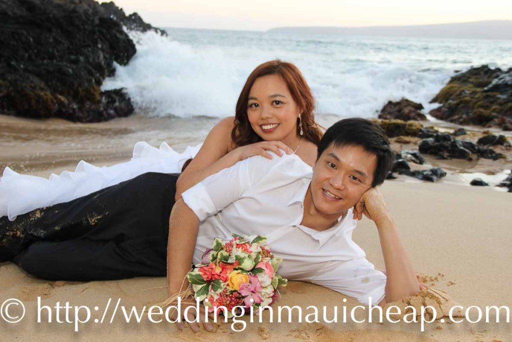 Wedding in Maui Cheap Maui beach ceremony