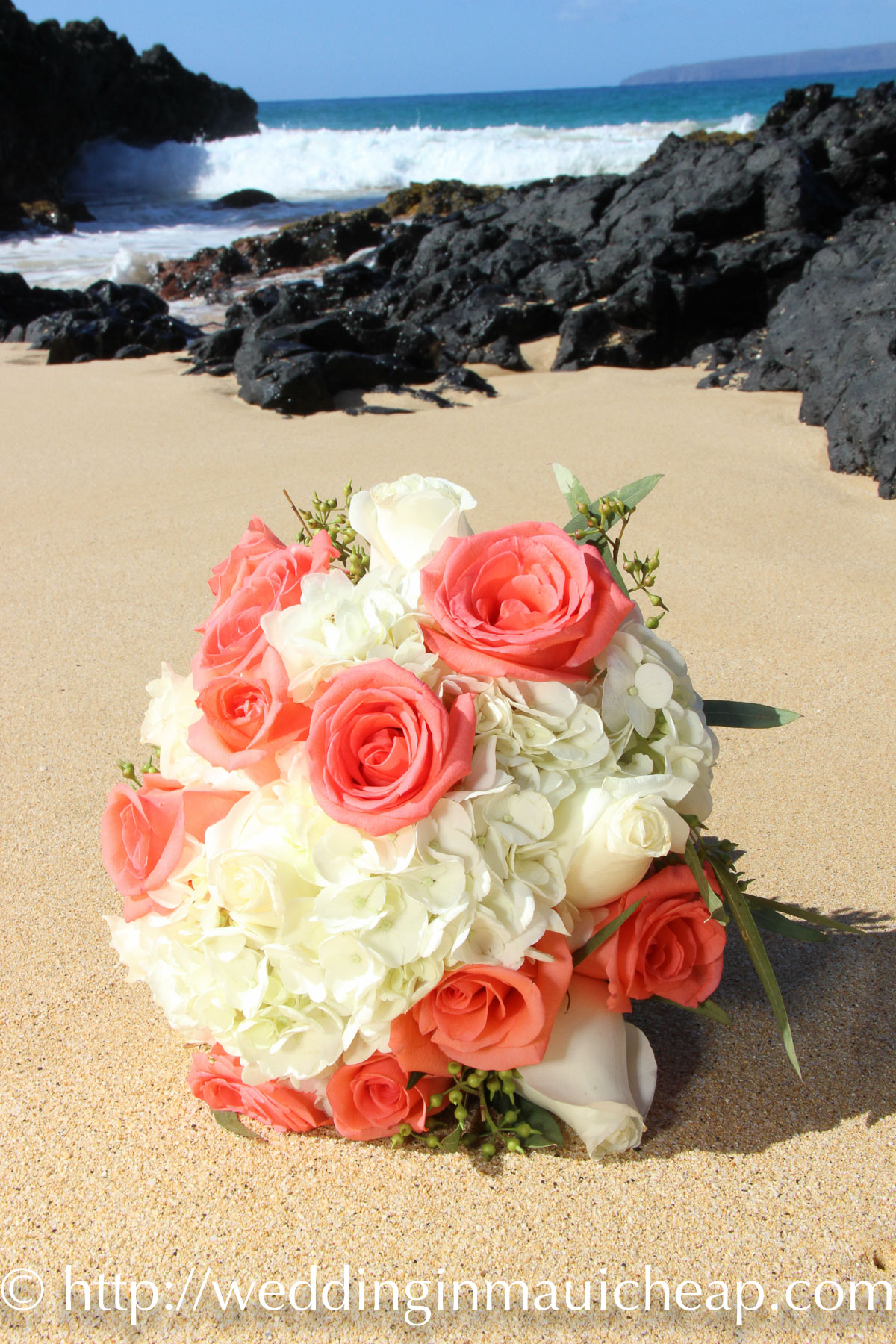 Cheap Maui Wedding Flower Affordable Barefoot Maui Wedding
