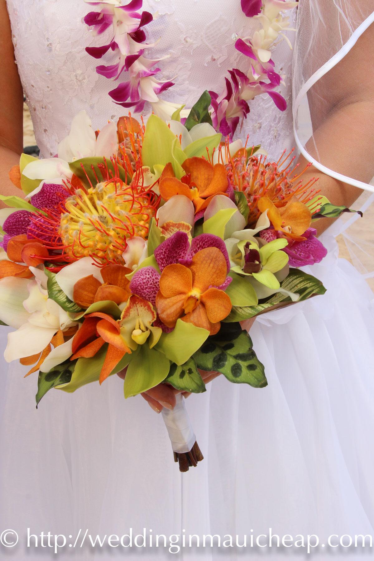 Cheap maui wedding flower affordable barefoot maui wedding cheap maui wedding flower izmirmasajfo