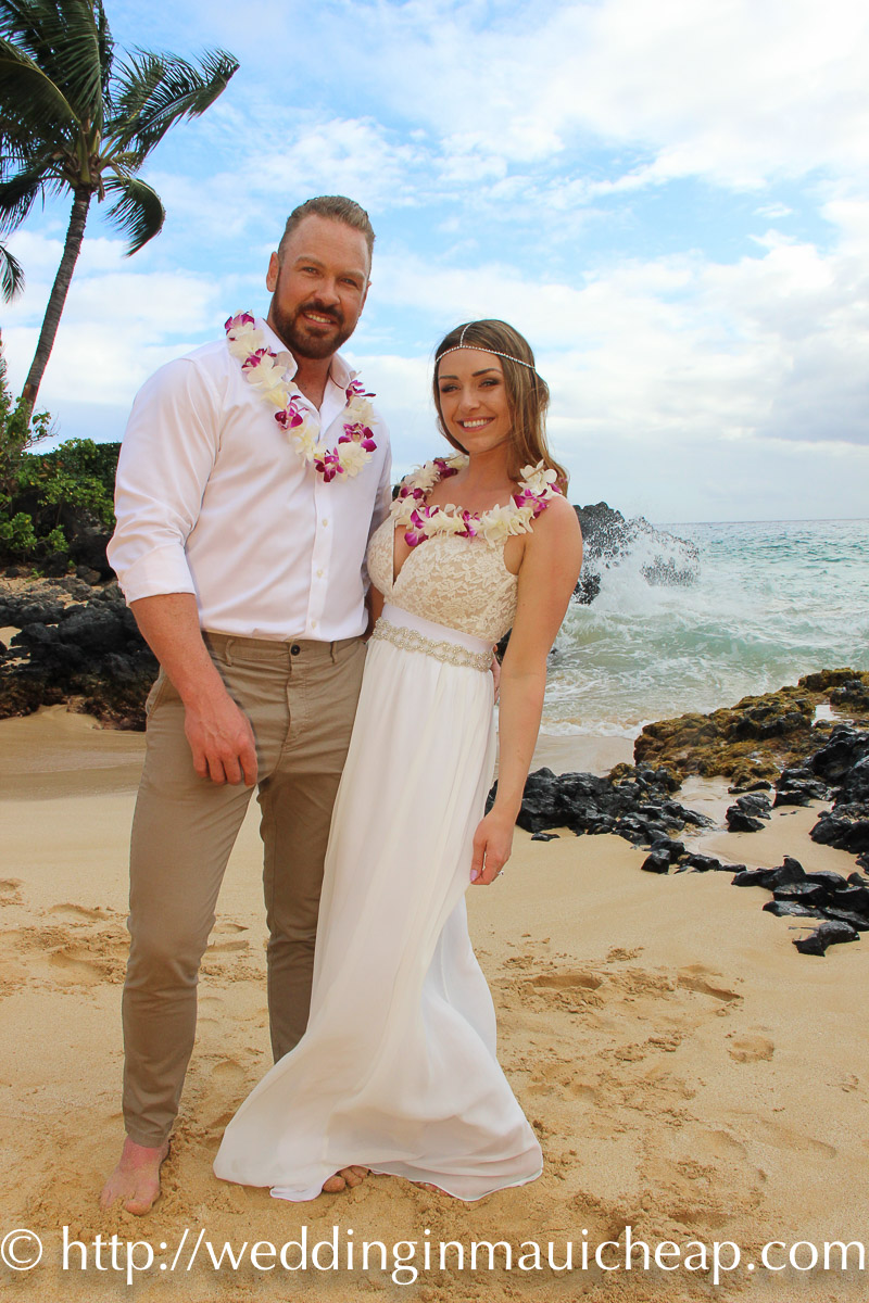 Simple Maui Wedding Package (Hawaiian Themed)