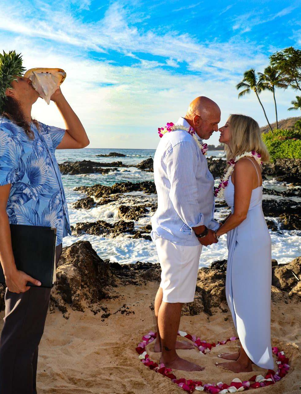 Maui wedding planner Shane